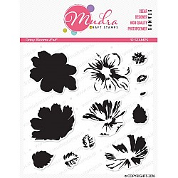 Mudra Craft Stamps - Daisy Blooms