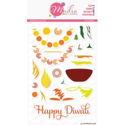 Mudra Craft Stamps - Diwali Decors