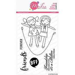 Mudra Craft Stamps - Friends Forever