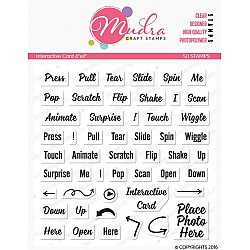 Mudra Craft Stamps - Interactive cards