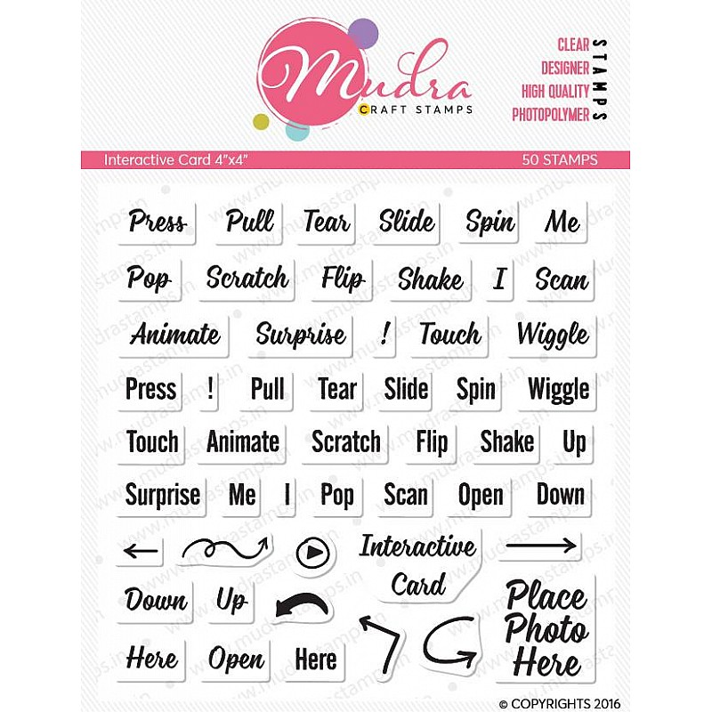 Image result for mudra interactive cards stamps