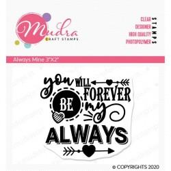 Mudra Craft Stamps - Always Mine
