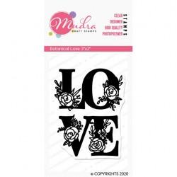 Mudra Craft Stamps - Botanical Love