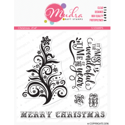 Mudra Craft Stamps - Christmas