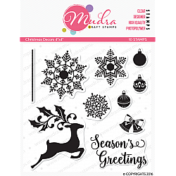 Mudra Craft Stamps - Christmas Decor