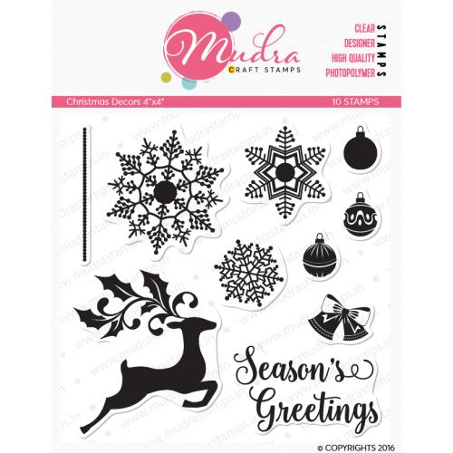 Mudra Craft Stamps - Christmas Decor