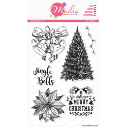 Mudra Craft Stamps - Jingle Bells