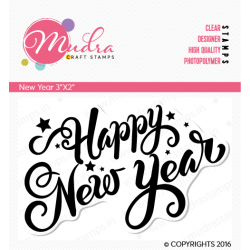 Mudra Craft Stamps - New Year