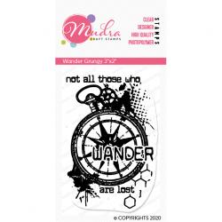 Mudra Craft Stamps - Wander Grungy