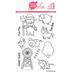 Mudra Craft Stamps - Old Macdonald