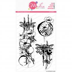 Mudra Craft Stamps - Choatic Beauty