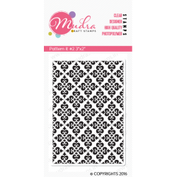 Mudra Craft Stamps - Pattern It 2