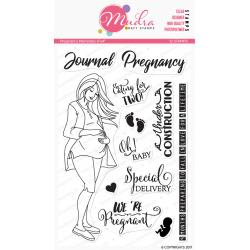 Mudra Craft Stamps - Pregnancy Journal