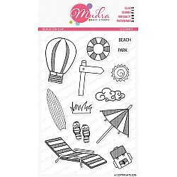 Mudra Craft Stamps - Beach Fun