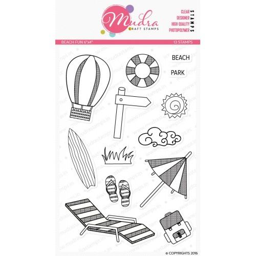 Mudra Craft Stamps - Beach Fun
