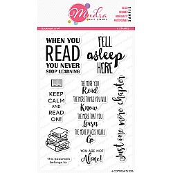 Mudra Craft Stamps - Bookmark