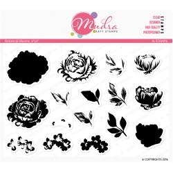 Mudra Craft Stamps - Botanical Blooms