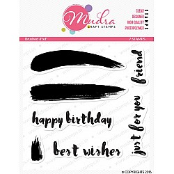 Mudra Craft Stamps - Brushed