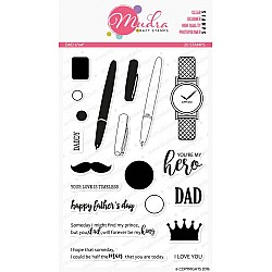 Mudra Craft Stamps - Dad