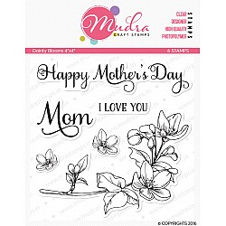 Mudra Craft Stamps - Dainty Blooms