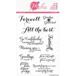Mudra Craft Stamps - Farewell