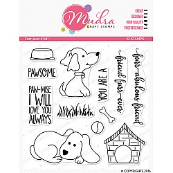 Mudra Craft Stamps - Furry Friend
