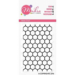 Mudra Craft Stamps - Hexa