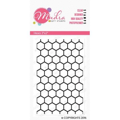 Mudra Craft Stamps - Hexa