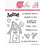 Mudra Craft Stamps - Home Is