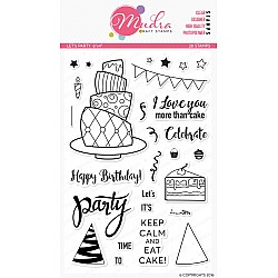 Mudra Craft Stamps - Lets Party