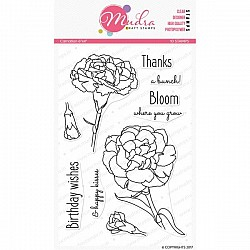 Mudra Craft Stamps - Carnation