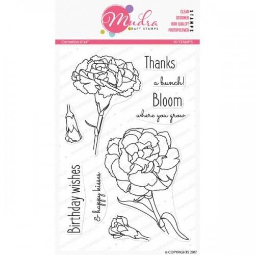 Mudra Craft Stamps - Carnation