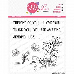 Mudra Craft Stamps - Dainty Blooms 2