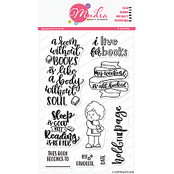 Mudra Craft Stamps - Bookmark V2