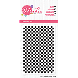Mudra Craft Stamps - Checker