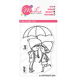 Mudra Craft Stamps - Cute Couple
