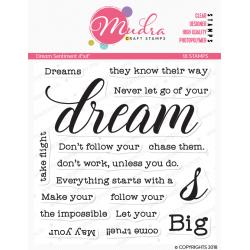 Mudra Craft Stamps - Dream