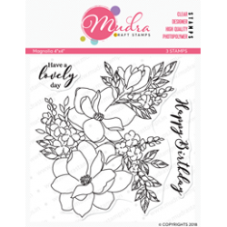 Mudra Craft Stamps - Magnolia