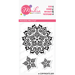 Mudra Craft Stamps - Mandala Mini