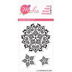 Mudra Craft Stamps - Mandala Mini