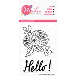 Mudra Craft Stamps - Rose Bud