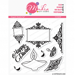Mudra Craft Stamps - Elegant Diwali