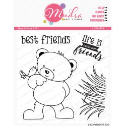 Mudra Craft Stamps - Bear Friends