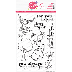Mudra Craft Stamps - Critter Party