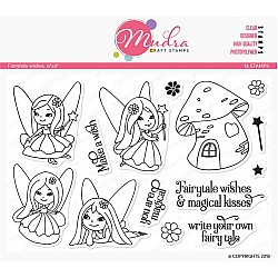 Mudra Craft Stamps - Fairytale Wishes
