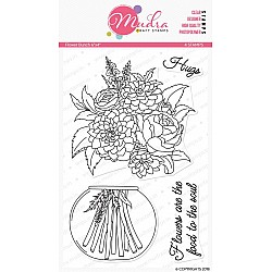 Mudra Craft Stamps - Flower Bunch