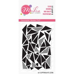 Mudra Craft Stamps - Geometric stories