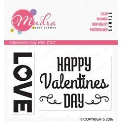 Mudra Craft Stamps - Valentine's Day Mini
