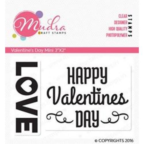 Mudra Craft Stamps - Valentines Day Mini