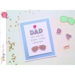 Mudra Craft Stamps - Dad